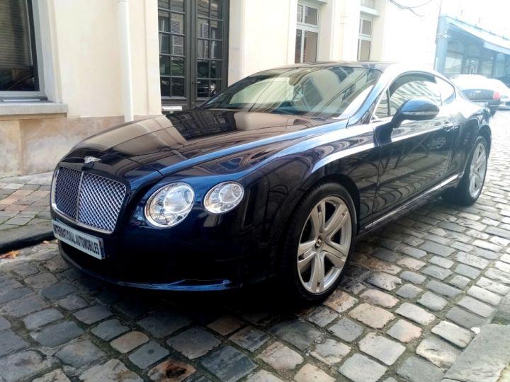 Bentley Continental GT Phase 2 W12 Bioéthanol Bleu Nuit (dark Sapphire) - 1