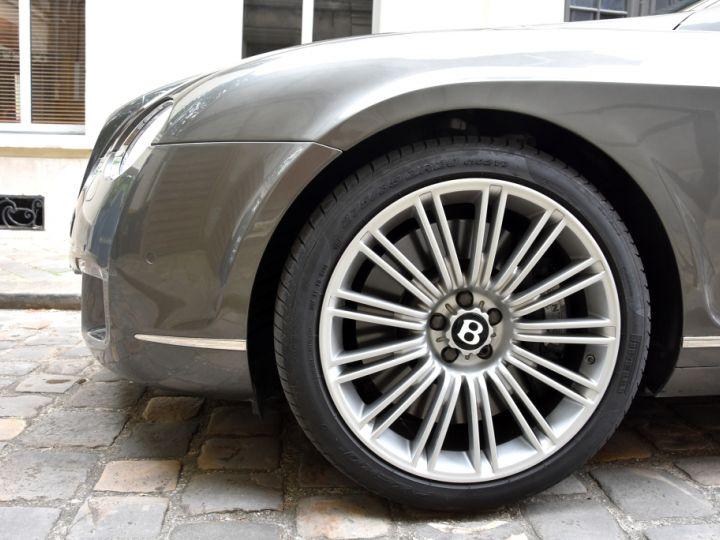Bentley Continental GT Speed W12 611ch Mulliner Gris Anthracite - 7