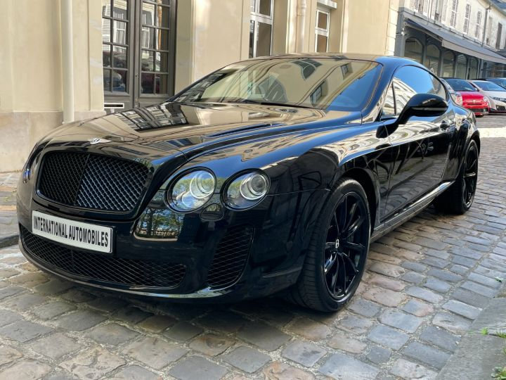 Bentley Continental GT Supersports Noir - 1