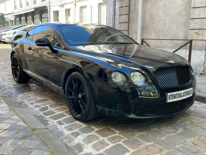 Bentley Continental GT Supersports Noir - 3