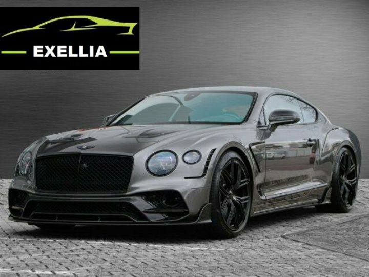 Bentley Continental GT V12 PACK EXCLUSIVE KEYVANI  GRIS GRANITE  Occasion - 9