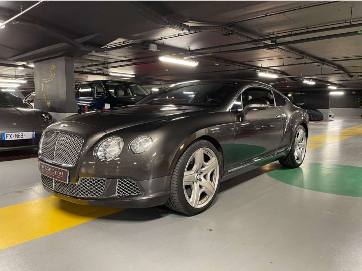 Bentley Continental GT W12 6.0 575 ch Gris Occasion - 1