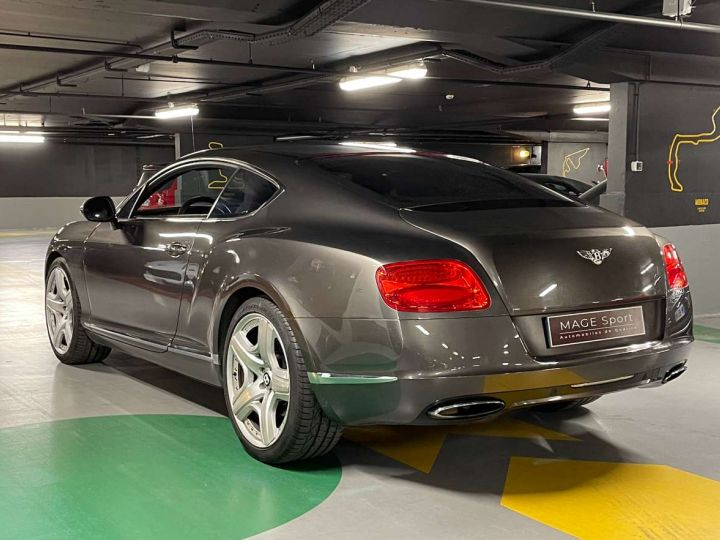 Bentley Continental GT W12 6.0 575 ch Gris Occasion - 4