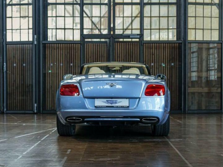 Bentley Continental GTC Cabriolet Bleu Peinture Métallisée - 4