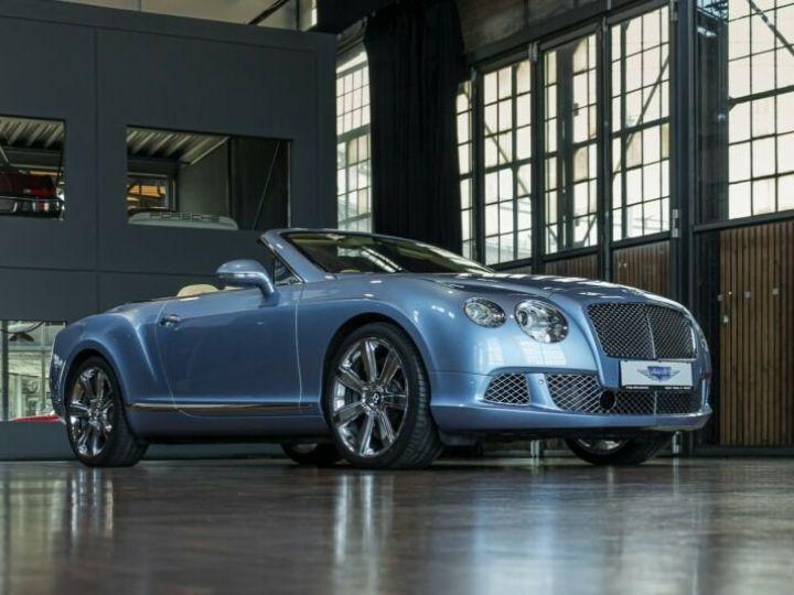 Bentley Continental GTC Cabriolet Bleu Peinture Métallisée - 5