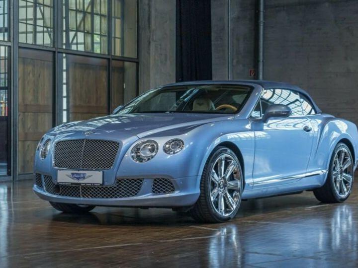 Bentley Continental GTC Cabriolet Bleu Peinture Métallisée - 6