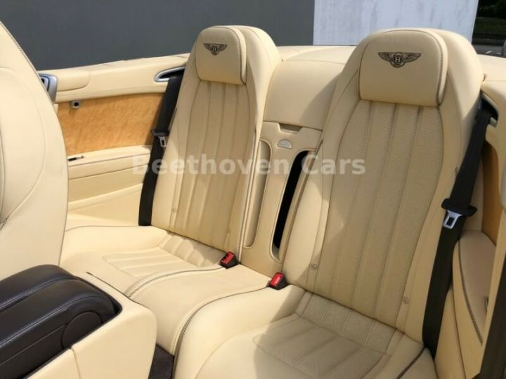 Bentley Continental GTC Cabriolet Brun Peinture Métallisée - 11
