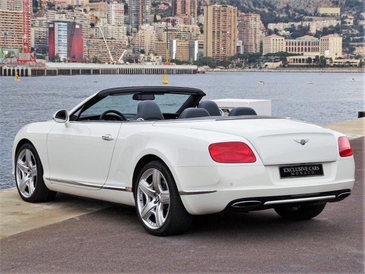Bentley Continental GTC II CABRIOLET W12 575 CV MULLINER - MONACO Blanc - 4