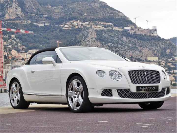 Bentley Continental GTC II CABRIOLET W12 575 CV MULLINER - MONACO Blanc - 5