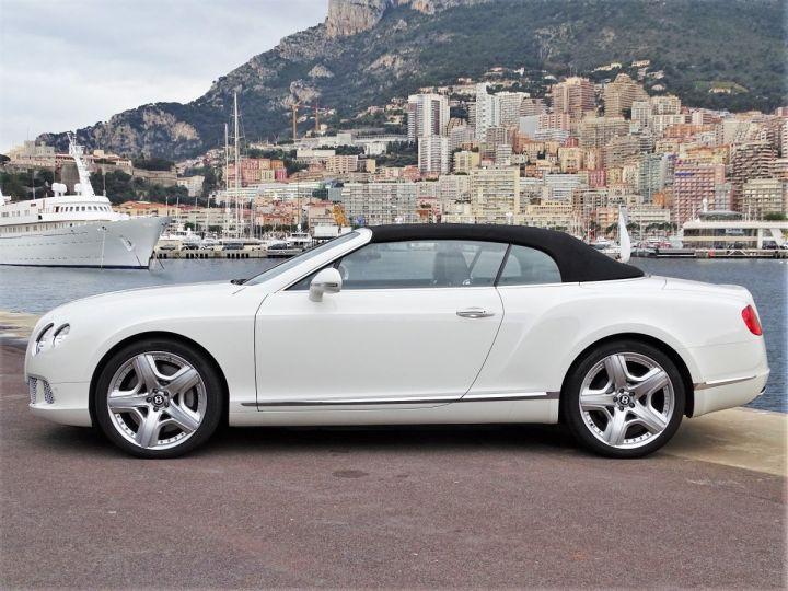 Bentley Continental GTC II CABRIOLET W12 575 CV MULLINER - MONACO Blanc - 12