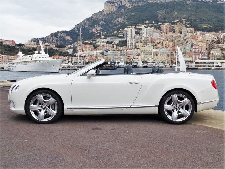 Bentley Continental GTC II CABRIOLET W12 575 CV MULLINER - MONACO Blanc - 15