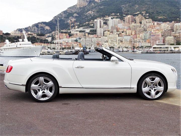Bentley Continental GTC II CABRIOLET W12 575 CV MULLINER - MONACO Blanc - 16