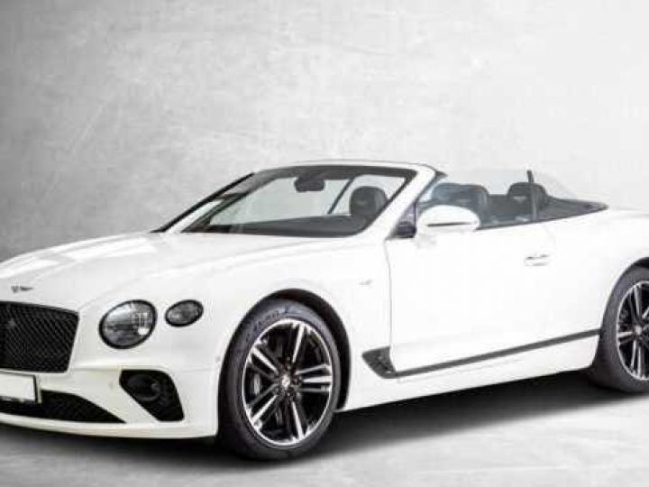 Bentley Continental GTC V8#New Continental Glacier White - 1
