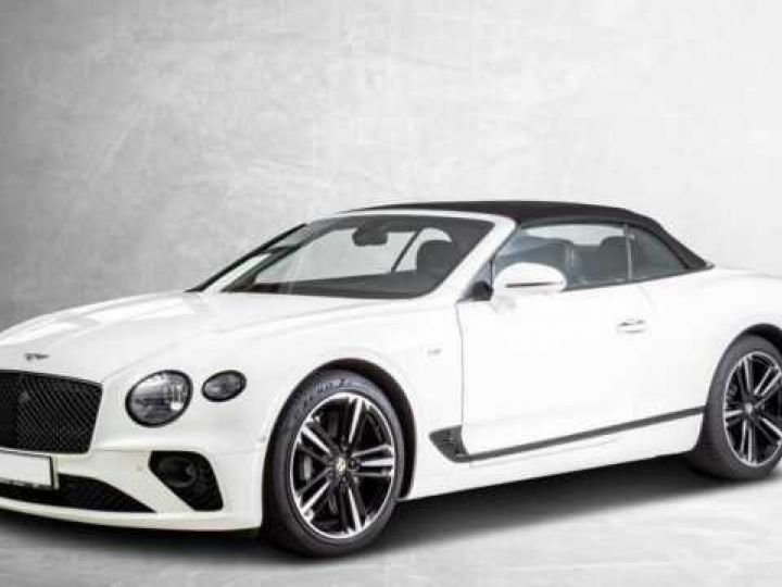 Bentley Continental GTC V8#New Continental Glacier White - 2