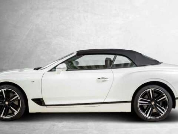 Bentley Continental GTC V8#New Continental Glacier White - 5