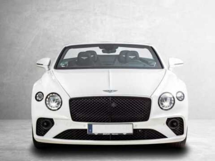 Bentley Continental GTC V8#New Continental Glacier White - 9
