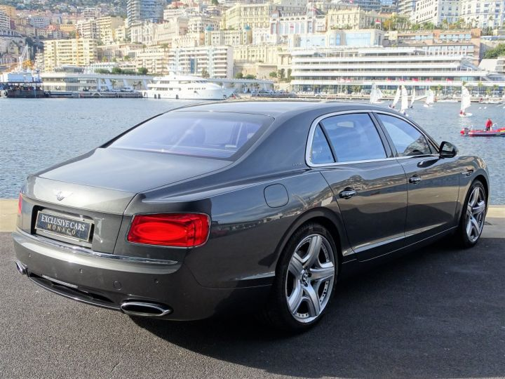 Bentley Flying Spur II W12 625 CV MULLINER - MONACO Gris Anthracite Métal - 3