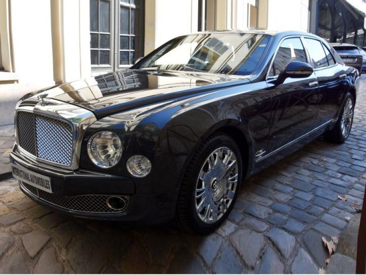 Bentley Mulsanne Noir Métal - 1