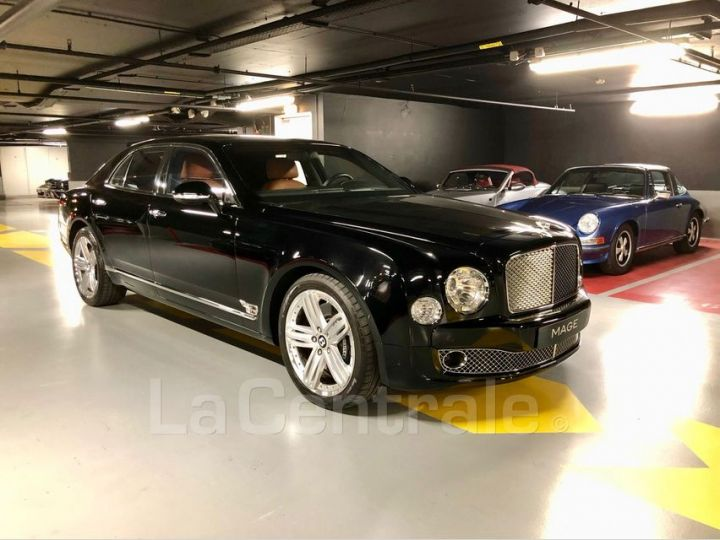 Bentley Mulsanne 2 II 6.75 V8 Noir Metal Occasion - 2