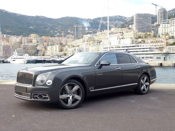 Bentley Mulsanne II Speed 6.8 537 CH Anthracite Occasion - 1