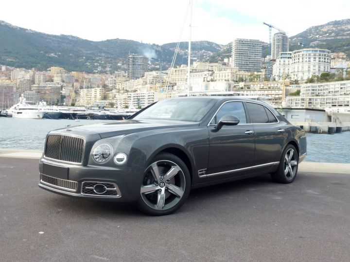 Bentley Mulsanne II Speed 6.8 537 CH Anthracite Occasion - 2