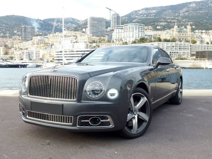 Bentley Mulsanne II Speed 6.8 537 CH Anthracite Occasion - 3