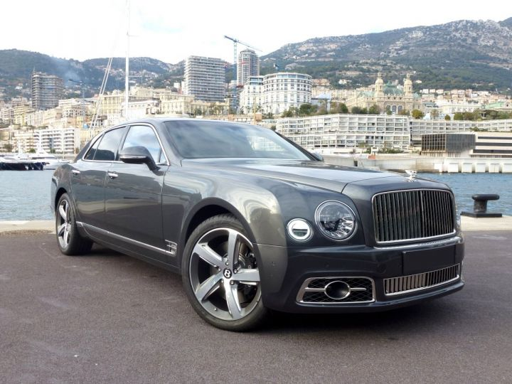 Bentley Mulsanne II Speed 6.8 537 CH Anthracite Occasion - 4