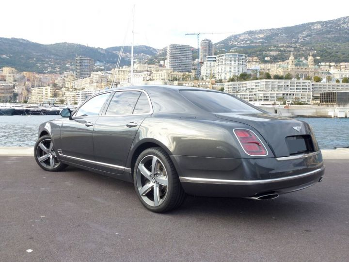 Bentley Mulsanne II Speed 6.8 537 CH Anthracite Occasion - 9