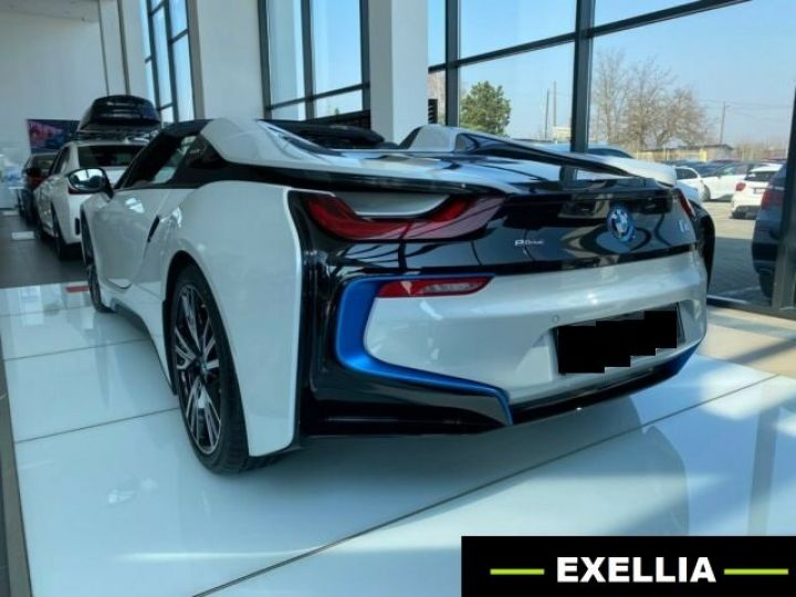 BMW i8 ROADSTER BLANC  Occasion - 4