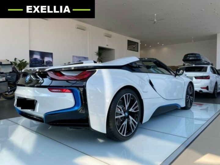 BMW i8 ROADSTER BLANC  Occasion - 5