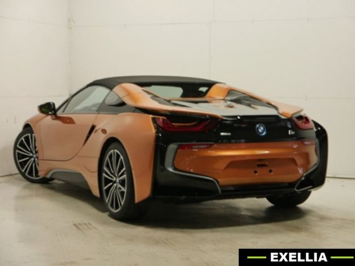 BMW i8 ROADSTER FROZEN GREY ORANGE  Occasion - 2