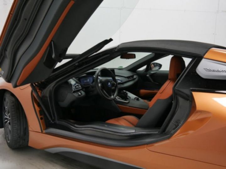 BMW i8 ROADSTER FROZEN GREY ORANGE  Occasion - 7