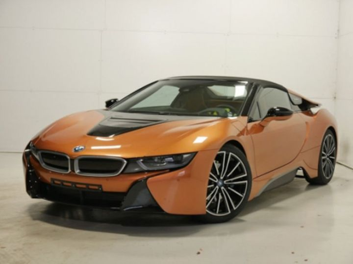BMW i8 ROADSTER FROZEN GREY ORANGE  Occasion - 11