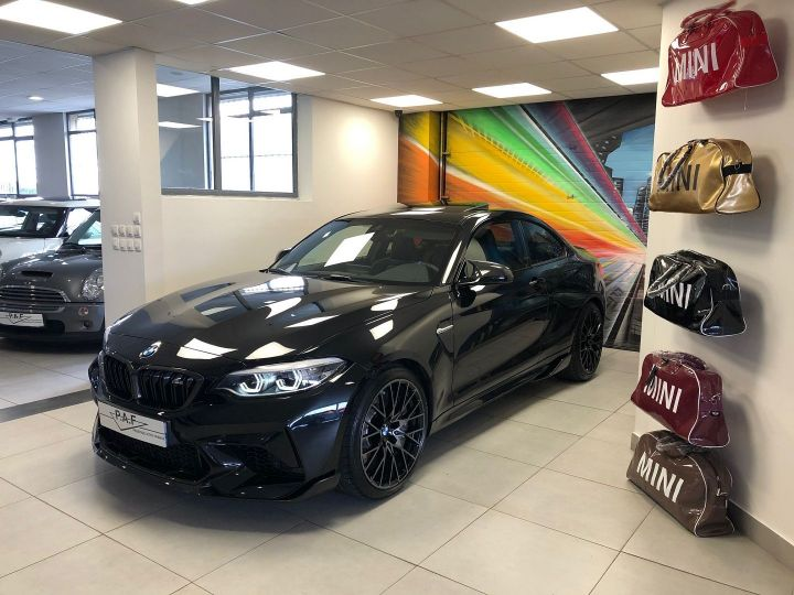 BMW M2 (F87) 3.0 410CH COMPETITION M DKG EDITION HERITAGE Noir Occasion - 1