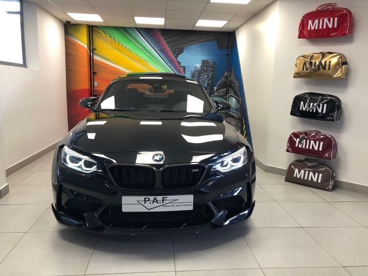 BMW M2 (F87) 3.0 410CH COMPETITION M DKG EDITION HERITAGE Noir Occasion - 2