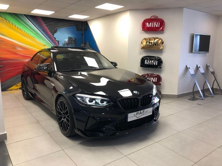 BMW M2 (F87) 3.0 410CH COMPETITION M DKG EDITION HERITAGE Noir Occasion - 3