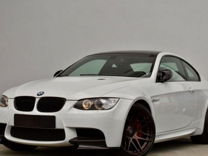 BMW M3 # Coupé DKG Carbon,1ere Main Blanc - 2