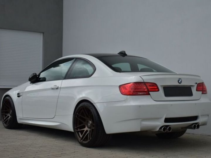 BMW M3 # Coupé DKG Carbon,1ere Main Blanc - 3