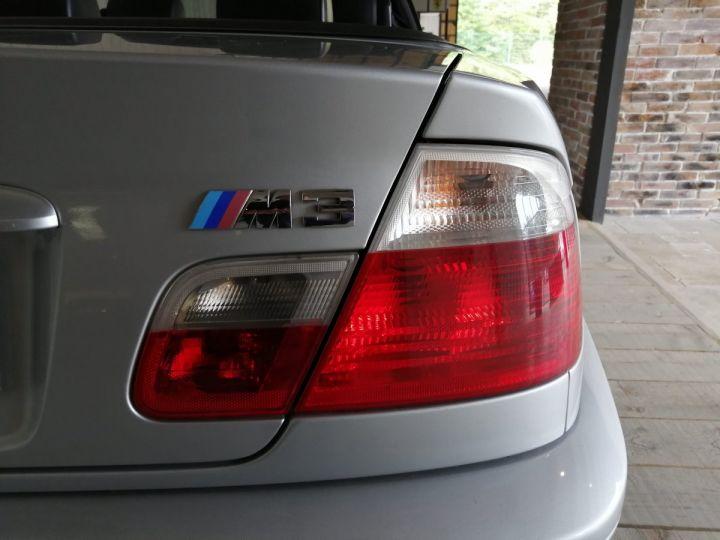 BMW M3 E46 CABRIOLET 343 CV BV6 Gris - 17