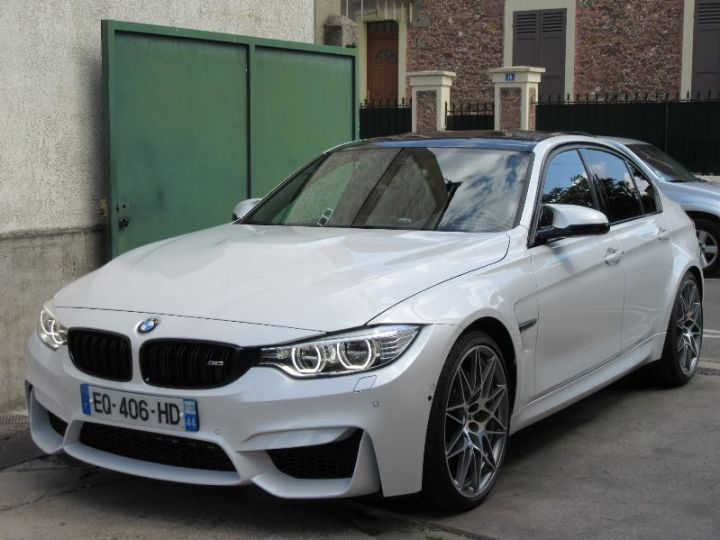 BMW M3 F80 3.0 450CH PACK COMPETITION M DKG BLANC Occasion - 1