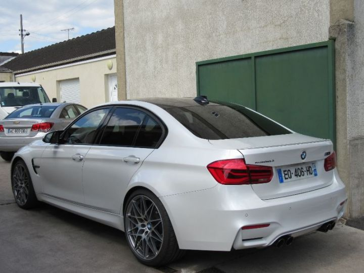 BMW M3 F80 3.0 450CH PACK COMPETITION M DKG BLANC Occasion - 3