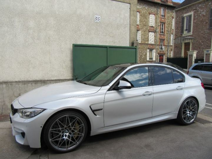 BMW M3 F80 3.0 450CH PACK COMPETITION M DKG BLANC Occasion - 5
