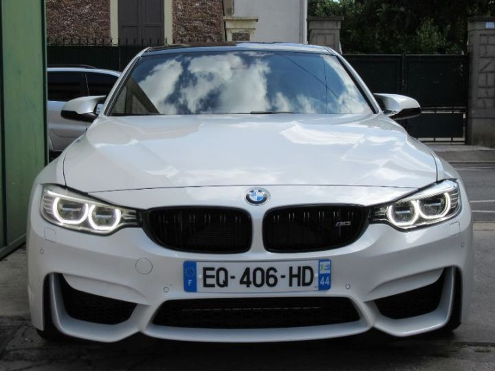 BMW M3 F80 3.0 450CH PACK COMPETITION M DKG BLANC Occasion - 6