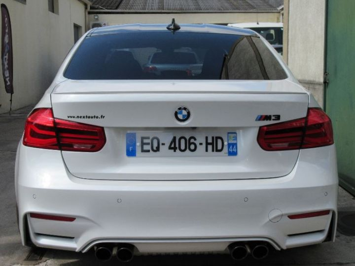BMW M3 F80 3.0 450CH PACK COMPETITION M DKG BLANC Occasion - 7