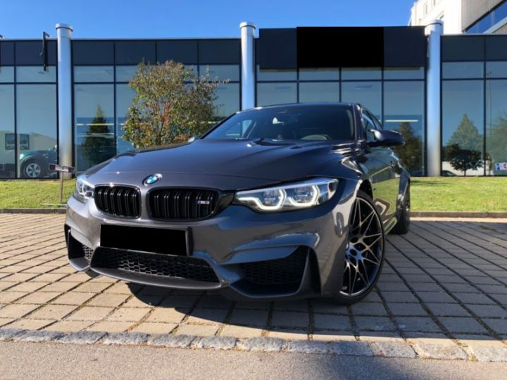 BMW M3 F80 3.0 450CH PACK COMPETITION M DKG GRIS Occasion - 1