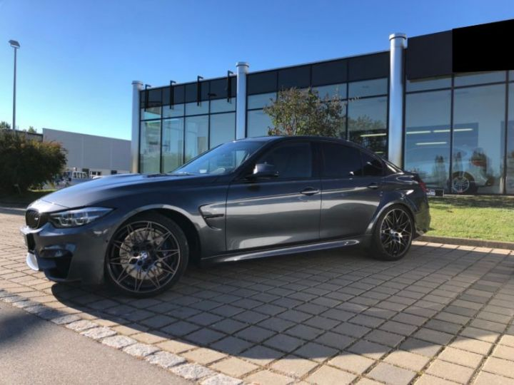 BMW M3 F80 3.0 450CH PACK COMPETITION M DKG GRIS Occasion - 4