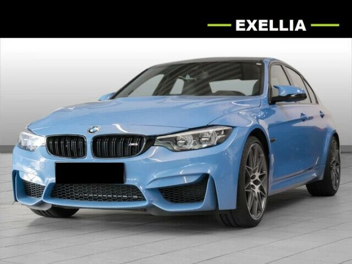 BMW M3 PACK COMPETITION DKG7 BLEU marina Occasion - 1