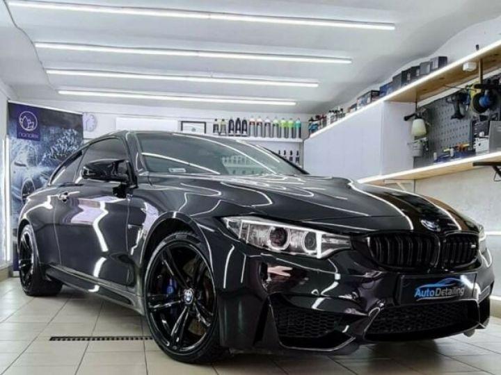 BMW M4 431 ch M DKG7 / BLUETOOTH / GPS / PHARE LED / GARANTIE 12 MOIS Noir métallisée  - 1
