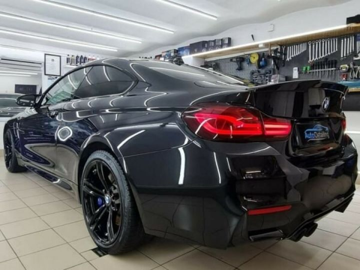 BMW M4 431 ch M DKG7 / BLUETOOTH / GPS / PHARE LED / GARANTIE 12 MOIS Noir métallisée  - 3