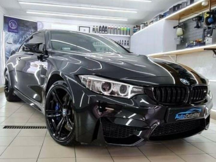 BMW M4 431 ch M DKG7 / BLUETOOTH / GPS / PHARE LED / GARANTIE 12 MOIS Noir métallisée  - 4